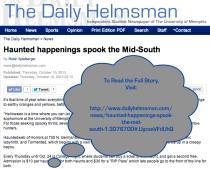 RobinSpielberger.HelmsmanArticle.Haunted Happenings Spook The Midsouth.2013